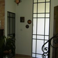 חלונות ברזל מפרופיל בלגי בבית פרטי