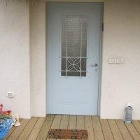 דלת ברזל לבית פרטי