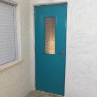 דלת כניסה מברזל - פרופיל בלגי