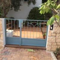 שער ברזל לבית פרטי