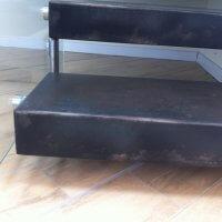 מדרגות ברזל בבית מגורים